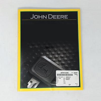 John Deere Paper Parts Catalog PC2786