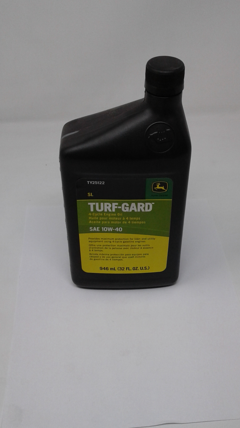 John Deere Turf-Gard Quart of Oil 10W40 TY25122