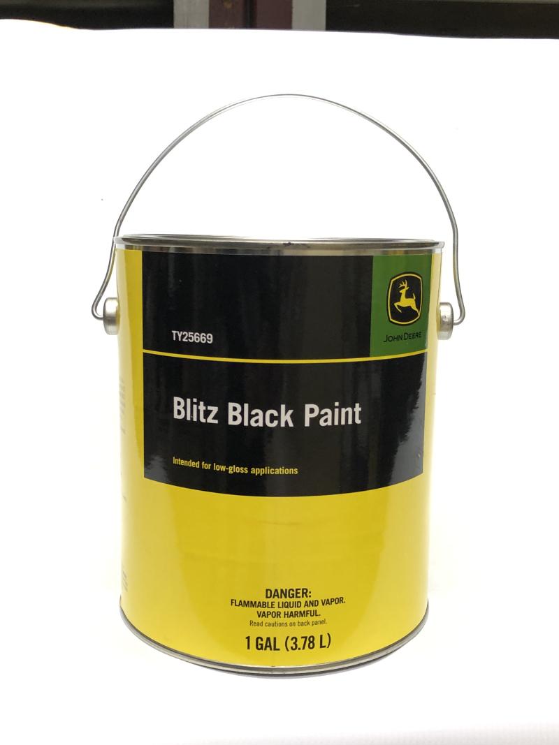 John Deere Black Paint TY25669