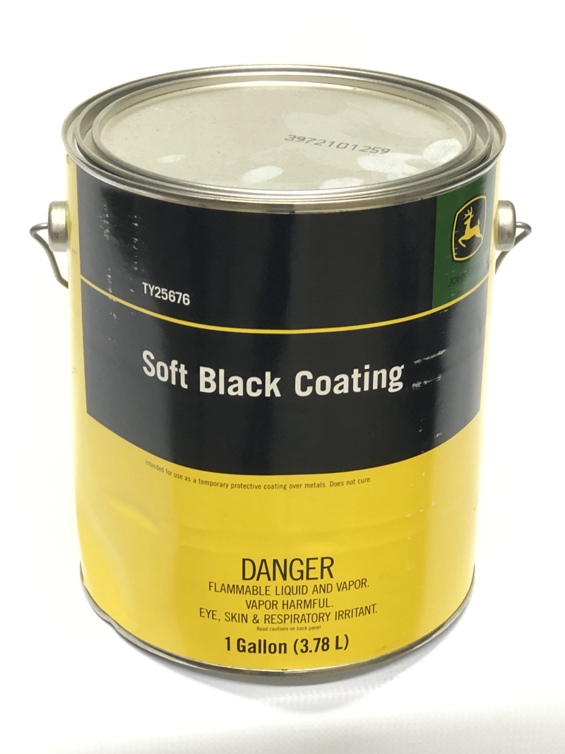 John Deere Black Paint TY25676