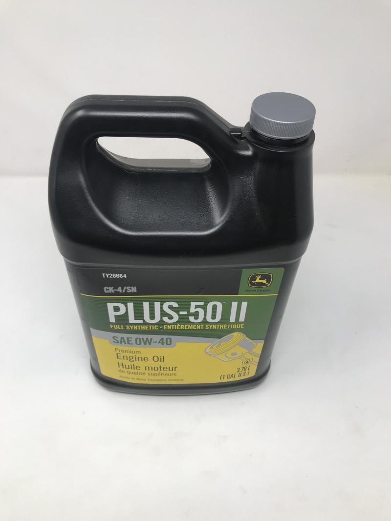 John Deere Plus-50 Ii Oil 0W40 Ck4/Sn TY26664