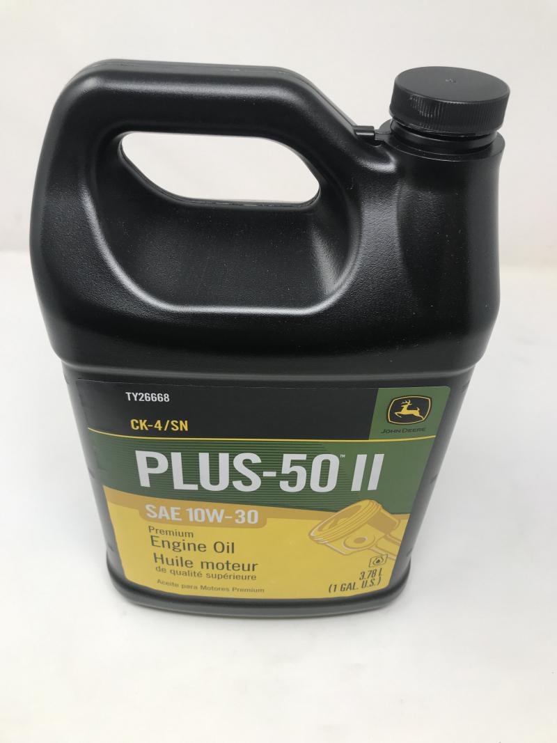John Deere Plus-50 Ii Oil 10W30 Ck4/Sn TY26668