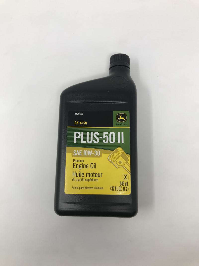 John Deere Plus-50 Ii Oil 10W30 Ck4/Sn TY26669