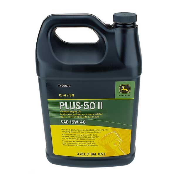 John Deere Plus-50 Ii Oil 15W40 Gallon TY26673