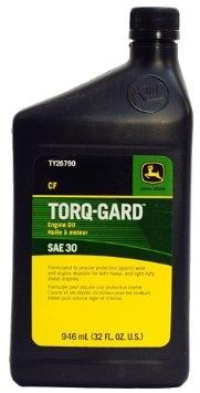 John Deere Torq-Gard Oil SAE30 Quart TY26790