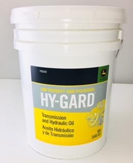 John Deere Low Viscosity Hy-Gard Oil 5 Gallon Bucket TY6342