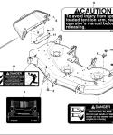 John Deere Mower Deck AM133402