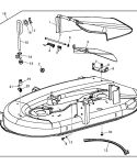 John Deere Mower Deck AUC16767