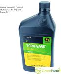 John Deere Torq-Gard SAE 30 Engine Oil TY26790 Case of 12