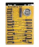 Titan 42 Piece Screwdriver Set with Parts Tray TIT17242
