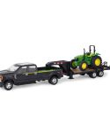 John Deere 1/32 Scale Pickup Truck Hauling Toy Set LP68113
