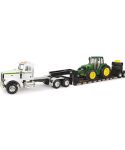 John Deere 1/16 Scale Big Farm Semi with Tractor Toy LP66952