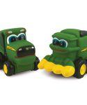John Deere Johnny Tractor & Corey Combine Toys LP64777