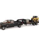 John Deere 1/16 Scale Big Farm Truck Skid Steer Toy Set LP55403