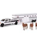 John Deere 1/32 Scale Horse Hauling Toy Set LP70553