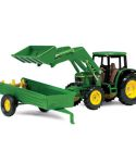 John Deere 1/32 Scale 6210 Tractor with Loader Toy Set TBE15488