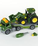 John Deere 1/24 Scale Tractor and Semi Toy LP66711