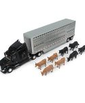 Peterbilt 1/32 Scale Semi with Cattle LP67439