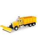 Big Roads Peterbilt Snow Plow Truck Toy LP75755