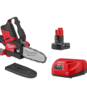 Milwaukee MLW2527-21M12 FUEL 12-Volt Lithium-Ion Brushless Cordless 6 in. HATCHET Pruning Saw Kit with 4.0 Ah Battery and Charger