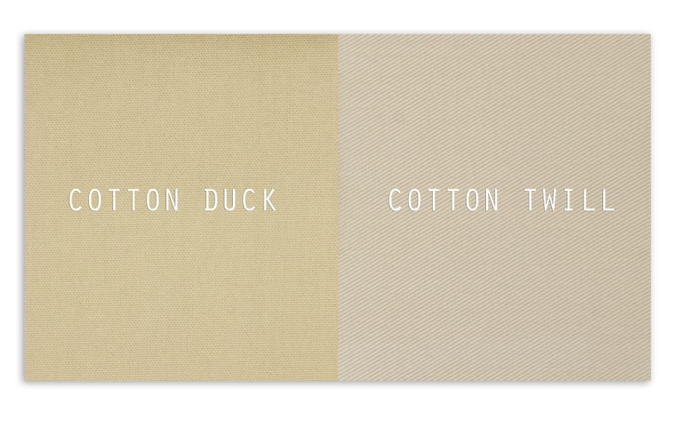Cotton Duck Vs Cotton Twill What S The Difference Greenhouse Fabrics
