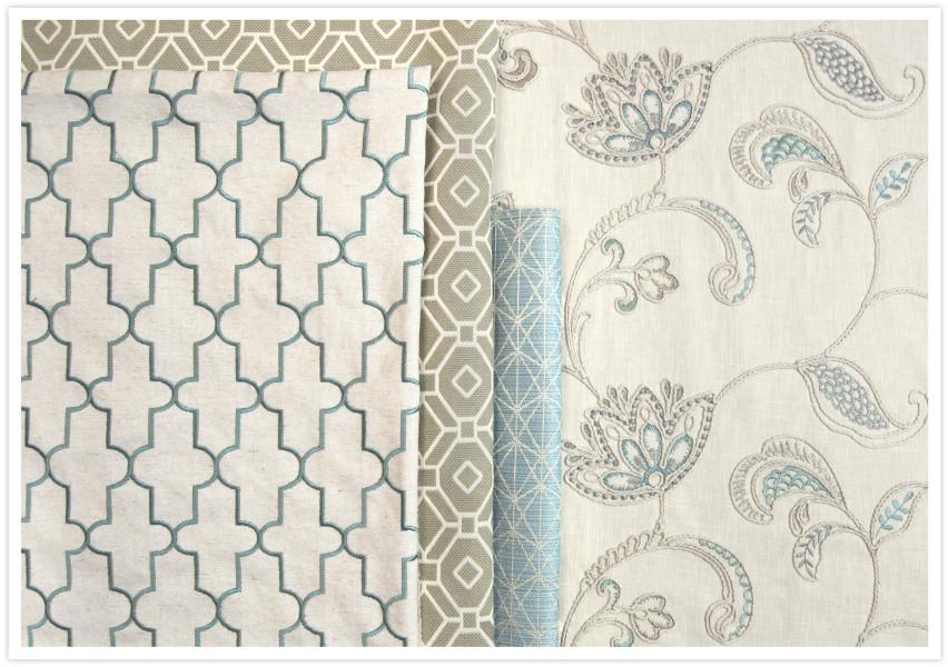 Embroidery vs  Jacquard | Greenhouse Fabrics