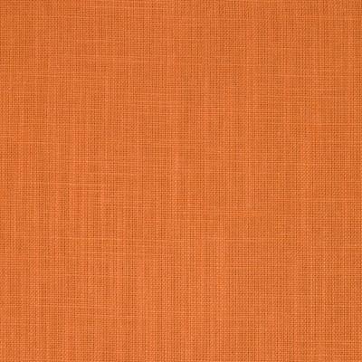 204714 Tangerine Fabric: PLAIN, LINEN LOOK, LINEN BLEND, ORANGE LINEN, PUMPKIN, LIGHT DUTY, DRAPERY