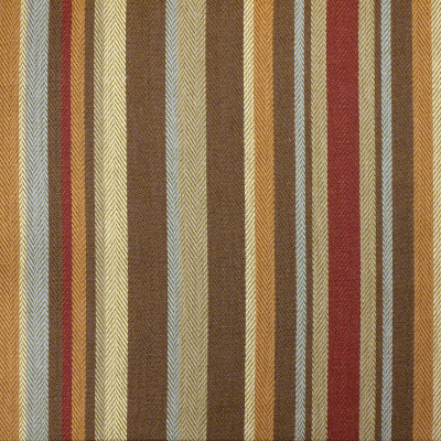 99090 Mahogany Fabric: D18, BROWN STRIPE, BROWN AND RED STRIPE,WOVEN