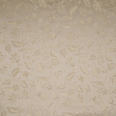 A1955 Parchment Fabric: D50, B08, B72, FLORAL, FLORAL FABRIC, JACQUARD, FOLIAGE, SMALL SCALE FLORAL, TONE ON TONE