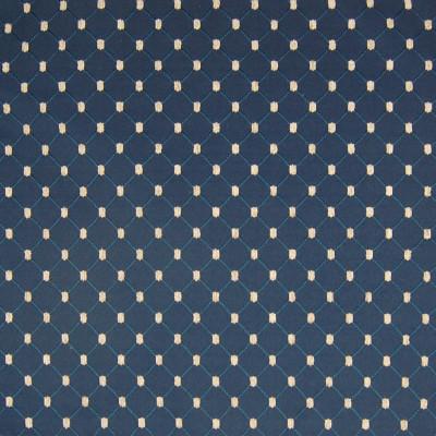 A4455 Navy Fabric: D95, B64, DIAMOND, DIAMOND FABRIC, CHENILLE DOT, EMBROIDERED FABRIC, EMBROIDERED, NEUTRAL FABRIC, BLUE DIAMOND