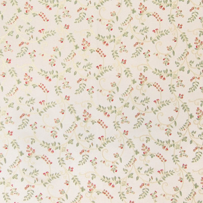 A4863 Ivory Fabric: D50, B72, C32, SCROLL, VINES, SMALL FLOWERS, PASTEL, PASTELS, PASTEL FABRICS