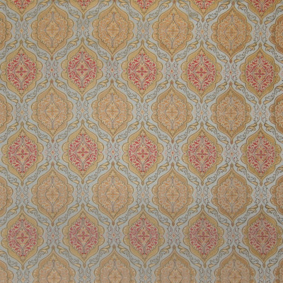 A4866 Cayman Fabric: D50, B72, C32, DAMASK, MEDALLION, PINK, YELLOW, GREEN