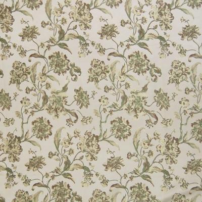 A4876 Mint Fabric: D50, B72, FLORAL, FLORAL FABRIC, JACQUARD, FOLIAGE, PASTEL, PASTELS, PASTEL FABRICS