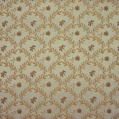A4885 Wheat Fabric: D50, B72, C32 , FLORAL, VINEY, DIAMOND PATTERN