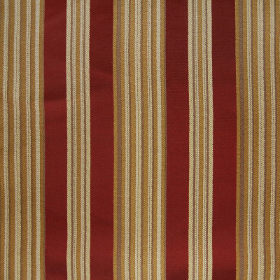 A4896 Tuscan Fabric: D50, B72, C32, GOLD, RED, WOVEN STRIPE