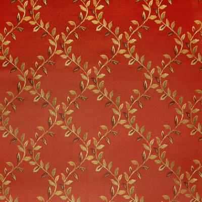 A4900 Ruby Fabric: D50, B72, C32, VINEY FLORAL DIAMOND,FOLIAGE