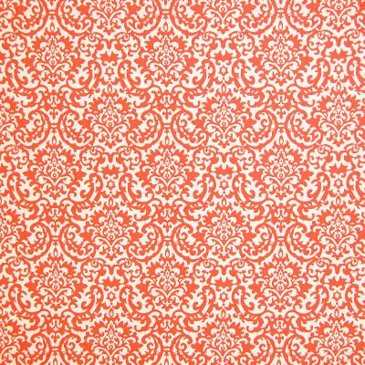 A4954 Coral Fabric: B74, B98, FRAMES, FRAMED FABRIC, ORANGE, ORANGE FRAME, WAVERLY