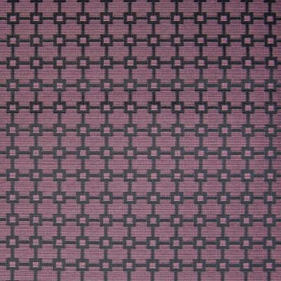 A5422 Eggplant Fabric: B84, CONTRACT, GEOMETRIC, PURPLE, EGGPLANT
