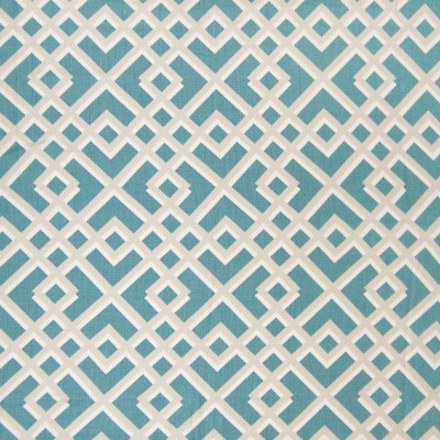 A6217 Teal Fabric: C23, B94, GEOMETRIC, BLUE, GREY, GRAY