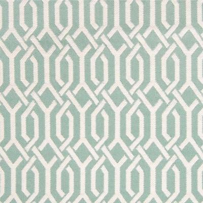 A6227 Mint Julep Fabric: B94, C08, C47, GEOMETRIC, GEOMETRIC FABRIC, BLUE, BLUE FABRIC, BLUE GEOMETRIC, COTTON GEOMETRIC, COTTON, COTTON FABRIC, BLUE COTTON, LATTICE, LATTICE FABRIC, BLUE LATTICE
