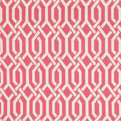 A6364 Azalea Fabric: C08, B96, GEOMETRIC, PINK, WHITE,WOVEN