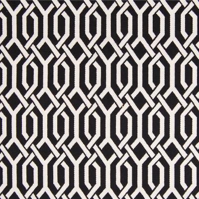 A6371 Domino Fabric: C08, B97, BLACK, WHITE, INTERWOVEN