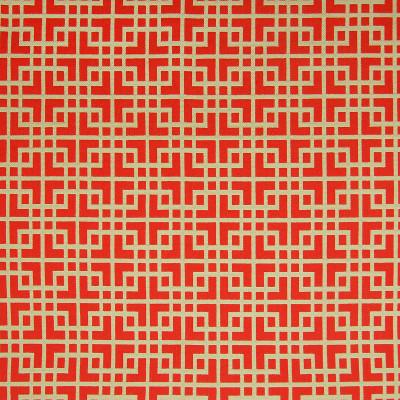 A6445 Firecracker Fabric: B98, C08, C45, COTTON, GEOMETRIC, RED, RED COTTON, RED GOEMETRIC, COTTON FABRIC, GEOMETRIC FABRIC, RED FABRIC, COTTON GEOMETRIC, GREEK KEY,WOVEN
