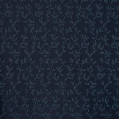 A6523 Indigo Fabric: D95, C87, C02, BLUE, NAVY, INDIGO, VINE, LEAF, BLUE FLORAL, NAVY FLORAL, DARK BLUE FLORAL