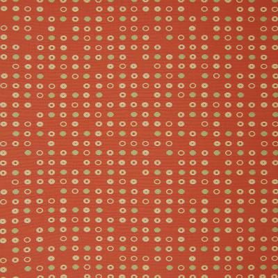 A6961 Tangelo Fabric: D53, C89, C10, CIRCLES, YELLOW, GREEN, CONTEMPORARY ORANGE, CONTEMPORARY DOT, ORANGE DOT, CONTEMPORARY ORANGE, ORANGE CONTRACT, WOVEN