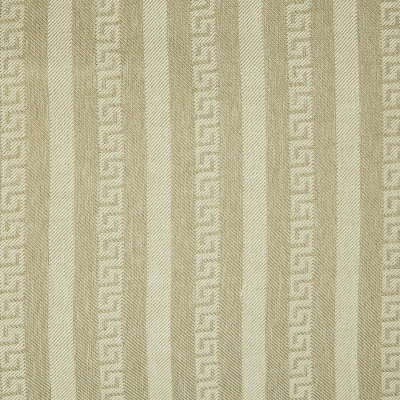 A7024 Beige Fabric: C11, GREEK KEY WOVEN STRIPE