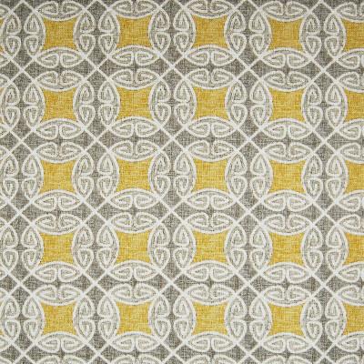 A7418 Pearl Fabric: C16, YELLOW, YELLOW SCROLL, YELLOW FRAME, AZTEC LOOK, AZTEC, YELLOW AZTEC, YELLOW AND GREY, YELLOW AND GRAY, YELLOW PRINT, PRINT, PRINT FABRIC