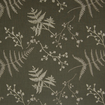 A7427 Zinc Fabric: C16, LINEN LOOK, GREY LINEN LOOK, GREY, GREY FLORAL, FLORAL, EMBROIDERY, GREY EMBROIDERY, CHARCOAL,FOLIAGE