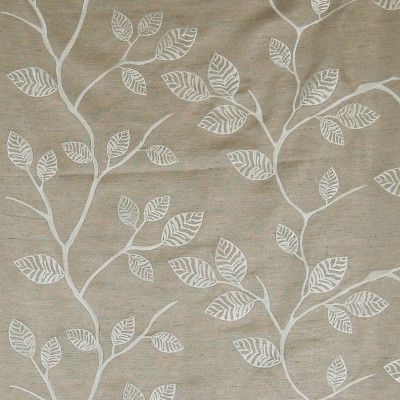 A7505 Pewter Fabric: C18, FLORAL, BRANCHES,FOLIAGE