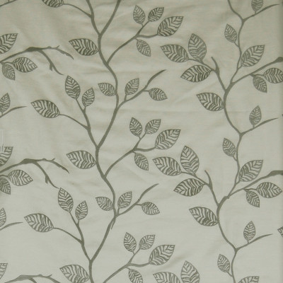 A7509 Off White Fabric: C18, BRANCHES, FLORAL,FOLIAGE